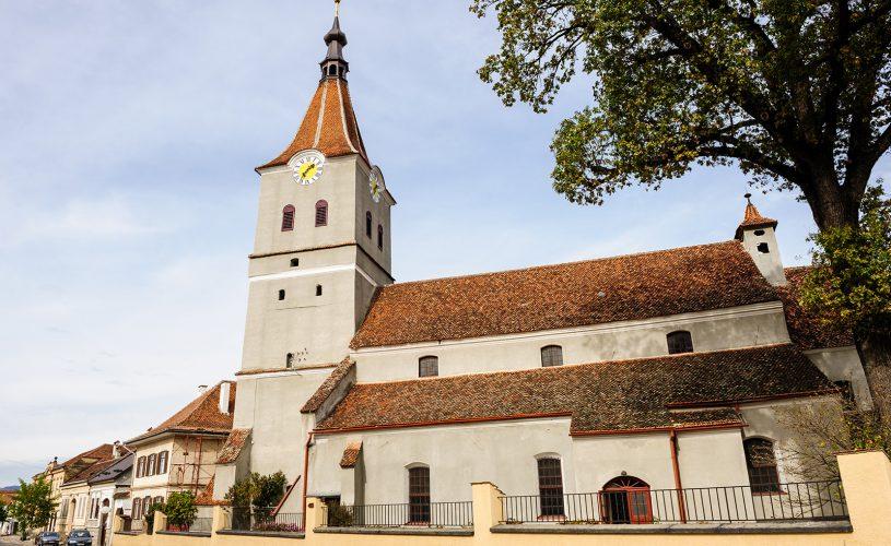 Biserica evanghelica Rasnov.