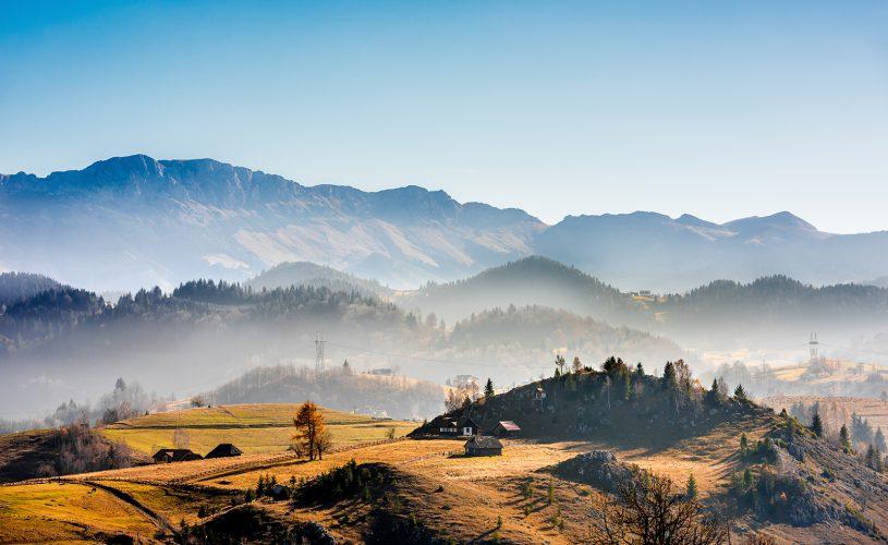 Sirnea, primul sat turistic din Romania.