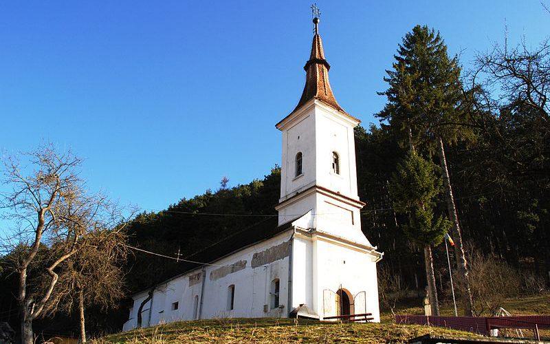 Biserica veche Sfantul Nicolae din Rasnov.
