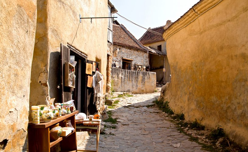 Rasnov, oras istoric.